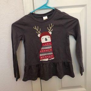 Like new, girls holiday shirt.